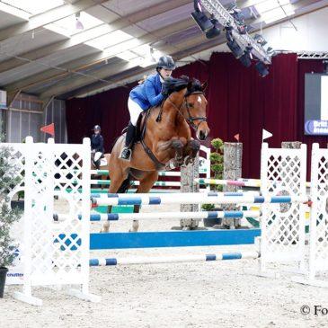 5-jarige paarden rubriek gewonnen door Britt Wiersma en Insallah II S
