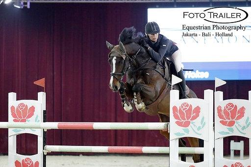 Marcelle Hokse en Example winnen de Anemone Horse Trucks grote prijs van Paard Balkbrug 2019!!