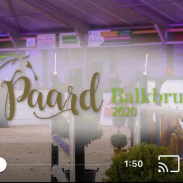 Aftermovie Paard Balkbrug 2020 & nieuwe datum 2021!!